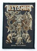 Testament - 'Demonarchy' Woven Patch